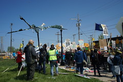 DSC00793 (Break Free Midwest) Tags: march midwest break protest free 350 bp whiting breakfree 350org breakfree2016