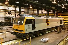 BRITISH RAIL 60087 SLIOCH (bobbyblack51) Tags: all diesel 5 transport brush class 1993 coco type depot british locomotive railways 60 types slioch mirrlees toton of 60087
