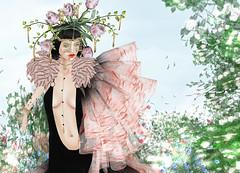 VERO MODERO - Dark Spring Dress (Rehana MiSS SLVietnam, Face of CHOP ZUEY 2015) Tags: fashion secondlife laboheme rehana lode newrelease slink posesion tukinowaguma chopzuey veromodero rehanaseljan
