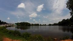 Lake Carroll (kmorris4021) Tags: sky water clouds peaceful calm creation hazy mixture lakecarroll carrolltonga