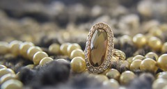 Macro Monday - Anything goes (yafit770) Tags: diamonds fur gold jewelry pearls ring luxury anythinggoes femenine challengeyouwinner macromonday cyunanimous