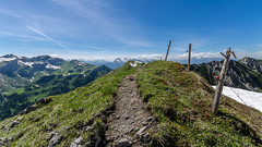 Near the summit (hjuengst) Tags: mountain alps berge summit liechtenstein alpen gipfel malbun augstenberg