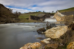 Chifley Dam overflows (Richard Sollorz Photography) Tags: west water river landscape flood dam country central australia nsw bathurst supply chifley