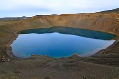 Viti Crater, Krafla (libscouse) Tags: iceland crater viti water lake reflection blue