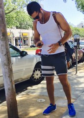 IMG_9589 (danimaniacs) Tags: man hot sexy guy hunk tanktop mansolo