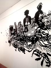MBosley_NurseEaters (TheWayThingsWere) Tags: silhouette paperart silhouettes papercut papercuts papercutting mollybosley