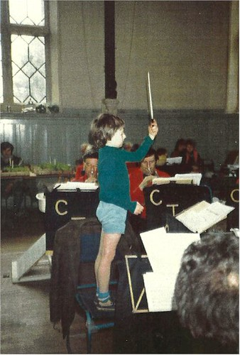 Laurance Reed - Aged 5 takes the baton