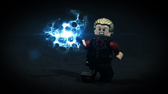 LEGO Yaxley (Geertos13) Tags: death design lego magic ministry harry potter spell suit blond ponytail minifigs custom curse hallows eater minifigure customize deathly yaxley protego