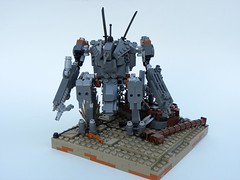 District 9 Mech Suit: Terrain (Josiah N.) Tags: lego district 9 mecha slums moc