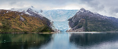 Ice running into Water (m.gallenkamp) Tags: panorama patagonia ice nature argentina tierradelfuego landscapes seascapes glaciers gletscher landschaft beaglechannel argentinien feuerland icescapes patagonien beaglekanal stunningnature glacieralley