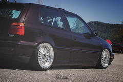 VW GOLF MK3 VR6 (JAYJOE.MEDIA) Tags: vw golf volkswagen low static lower bbs lowered slammed stance vr6 lowlife mk3 bagged airride bbswheels stanced bbsgang