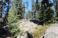 Rock pile next to the Sky Lakes Trail (rozoneill) Tags: sky lake cold liza rock creek forest river spring elizabeth lakes fremont trail national wilderness rogue siskiyou winema trailhead isherwood notasha