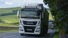 R15 LEB (panmanstan) Tags: man truck wagon derbyshire transport lorry commercial vehicle freight bulk haulage tunstead tgx