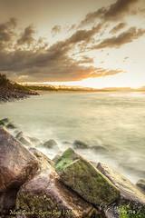 Last Light | Main Beach, Byron Bay | NSW (Jeffrey.Teo) Tags: ocean travel sunset beach water landscape scenery holidays rocks dusk scenic australia esplanade nsw newsouthwales byronbay magichour goldenhour mainbeach capebyron clarksbeach silkywater jeffreyteo woonch
