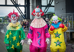Killer Klowns from Outer Space (Jason Harley......) Tags: cosplay horror terror clowns scare con fright magna rotherham horrorcon