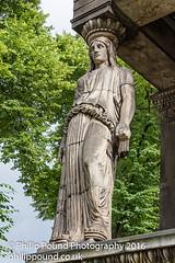 Statue at St Pancras Parish Church (Philip Pound Photography) Tags: london church parish camden stpancras eustonroad
