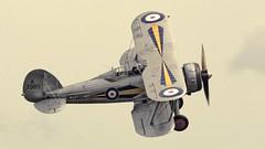 Duxford Warbirds 046 July 2016 Gladiator (Doyleecart Photography) Tags: charity classic hope spirit aviation faith 1940 malta ww2 brave raf siege biplane protect gladiator rn gloster doyleecart