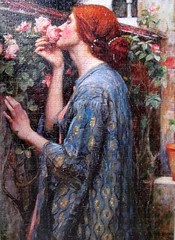 The Soul of the Rose (1908) (pefkosmad) Tags: art painting artist hobby puzzle painter romantic leisure jigsaw preraphaelite pastime johnwilliamwaterhouse mysweetrose thesouloftherose