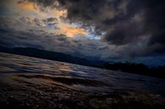 Millarochy Bay. Loch Lomond. (marcingodlewski1) Tags: camping scotland dramaticsky lochlomond darkphoto millarochybay
