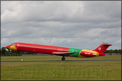 OY-RUE McDonnell Douglas MD83 Danish Air Transport (elevationair ) Tags: dublinairport dub eidw airliners airlines aircraft airplane plane avgeek aviation arrival departure runway md83 md mcdonnelldouglas mcdonnelldouoglasmd83 oyrue dat danishairtransport