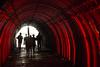 Salida Catedral de Sal de Zipaquirá (David Puerta Carmona) Tags: colombia mina mine salt sal tunel red shadows rojo sombra silueta silhouette