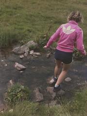 Pallins. (loi_davide44) Tags: summer people mountain girl montagne river lawn adidas brescia montedasdana
