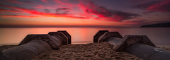 Safety Beach Sunset (Mark McLeod 80) Tags: beach australia victoria safety drain vic morningtonpeninsula markmcleod lee09nd canontse24mmf35lii