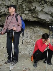 Anton e Donatella alla grotta