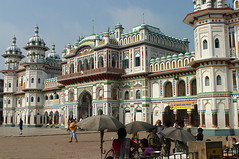 22- Janakpur Mithila Nepal (Chanudaud) Tags: nepal monument temple town asia religion ngc asie hinduism ville mithila nationalgeographic hindouisme janakpur janakimandir