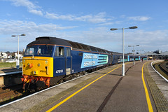 47818 - Great Yarmouth - 2P33 (richa20002) Tags: set ga diesel rail loco spoon class short locomotive greater services 47 direct anglia hauled