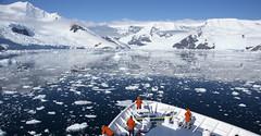 Neko Harbor (TrekLightly) Tags: sea mountain ice landscape outdoor antarctica orion iceberg nationalgeographic brash natgeoexpeditions treklightly