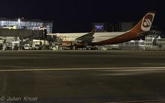 Air Berlin / D-ALPI / Airbus A330-223 (90flyhigh) Tags: blue airport ramp tour nightshot nacht hour flughafen dusseldorf dsseldorf flugzeug planespotting blaue dus stunde vorfeldtour