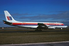 N8037U United DC-8-21 at KORD (GeorgeM757) Tags: airplane airport aircraft aviation united jet chicagoohare dc8 mcdonnelldouglas kord alltypesoftransport dc821 classicmcdonnelldouglas georgem757 n8037u