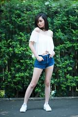 karina khay (petersaputra) Tags: portrait pose nikon f14 85mm nikkor ancol karina salah khay ecopark f14d acol karinakhay