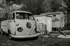So many years of work (ericbaygon) Tags: bw black bus car atc vw vintage volkswagen blackwhite nikon noiretblanc meeting pickup voiture oldschool combi kustom tournai utilitaire nikonpassion d300s