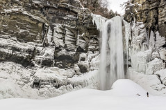 A Tale of Two Taughannock Winters (TheExplorographer.com) Tags: statepark travel winter snow newyork ice creek photography waterfall explore ithaca fingerlakes feature ulysses taughannock lanina