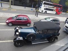 Vintage (metrogogo) Tags: classic car vintage birmingham classiccar vintagecar softtop