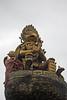 149. Statue At Durbar Square, Dhulikel, Nepal (Jay Ramji's Travels) Tags: nepal sculpture statue garuda dhulikel durbarsquare piller