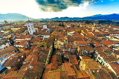 Lucca (Arutemu) Tags: city italien italy canon italian italia cityscape view perspective sigma ciudad wideangle lucca it tuscany vista toscana ville  1224 6d  sigma1224            eos6d  canon6d