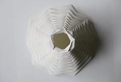 Testfaltungen Steinpapier (Kristina Wiling) Tags: paper origami folding rockpaper kristinawissling