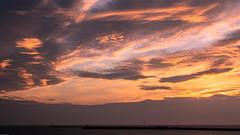 Sunset Dutch Coast / Zonsondergang Nederlandse Kust (tribsa2) Tags: sunset sea sky cloud seascape holland water netherlands dutch weather clouds seaside zonsondergang tramonto shoreline nederland noordzee wolken zee ciel northsea cielo nubes nuage nuages sunrisesunset crpuscule nordsee merdunord weer wolk zeegezicht noordpier canoneos5dmarkii nederlandvandaag canonnl canonef70300mmf456lisusm