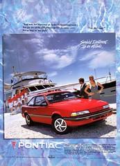 1991 Pontiac Sunbird LE Coupe (aldenjewell) Tags: ad le 1991 pontiac coupe sunbird