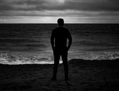 _DSC1913 (Edoardo Marino) Tags: ocean ca sunset portrait bw beach monochrome silhouette nikon waves pch 105 nikkor dodi marino edoardo d810 edoardomarino