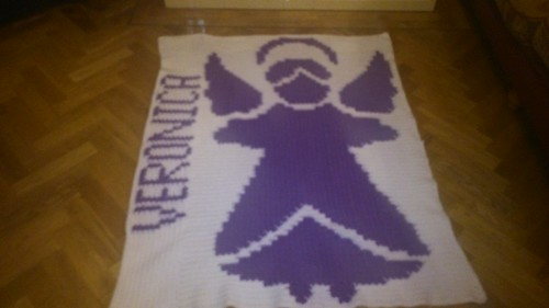 Angel blanket for Veronica