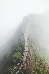 Tread Carefully (Rayce Sugitan) Tags: mountains stairs canon photography heaven haiku oahu stairway koolau kaneohe to