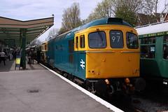33201 + D6515 Swanage (daveymills31294) Tags: diesel 33 railway class 330 gala swanage 2016 331 33012 33201 d6515