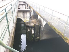 The outlet of the dam (Alex-Boy) Tags: canada dam columbia british hydroelectric bchydro hydroelectricity