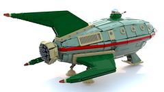 Lego UCS Planet Express Ship (Nicola Stocchi) Tags: ship lego space future planet futurama spaceship express