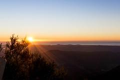 Here Comes The Sun (bailes.joseph) Tags: morning sun mountain sunrise landscape golden coast early scenery angle hiking wide hike rays