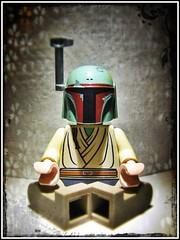 Buddha Fett (LegoKlyph) Tags: art starwars geek lego buddha calm zen scifi bobafett custom